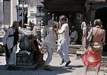 Image of Group of Hippies in Neapl Kathmandu Nepal, 1969, second 50 stock footage video 65675043060