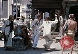 Image of Group of Hippies in Neapl Kathmandu Nepal, 1969, second 51 stock footage video 65675043060