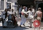 Image of Group of Hippies in Neapl Kathmandu Nepal, 1969, second 52 stock footage video 65675043060