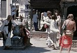 Image of Group of Hippies in Neapl Kathmandu Nepal, 1969, second 53 stock footage video 65675043060