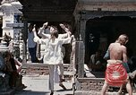 Image of Group of Hippies in Neapl Kathmandu Nepal, 1969, second 56 stock footage video 65675043060