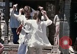 Image of Group of Hippies in Neapl Kathmandu Nepal, 1969, second 58 stock footage video 65675043060