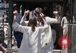 Image of Group of Hippies in Neapl Kathmandu Nepal, 1969, second 59 stock footage video 65675043060