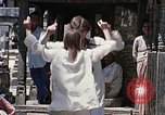 Image of Group of Hippies in Neapl Kathmandu Nepal, 1969, second 60 stock footage video 65675043060