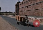 Image of Red Fort wall Delhi India, 1970, second 4 stock footage video 65675043068