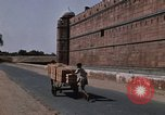Image of Red Fort wall Delhi India, 1970, second 5 stock footage video 65675043068