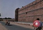 Image of Red Fort wall Delhi India, 1970, second 11 stock footage video 65675043068