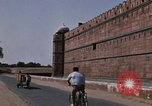 Image of Red Fort wall Delhi India, 1970, second 12 stock footage video 65675043068
