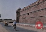 Image of Red Fort wall Delhi India, 1970, second 13 stock footage video 65675043068