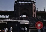 Image of Red Fort Delhi India, 1970, second 26 stock footage video 65675043069