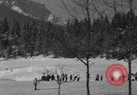 Image of Boys and girls at U.S. Ski Patrol School Berchtesgaden Germany, 1957, second 5 stock footage video 65675043165