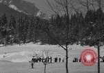 Image of Boys and girls at U.S. Ski Patrol School Berchtesgaden Germany, 1957, second 7 stock footage video 65675043165