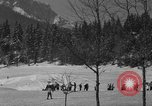 Image of Boys and girls at U.S. Ski Patrol School Berchtesgaden Germany, 1957, second 8 stock footage video 65675043165