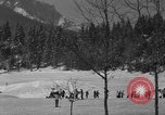 Image of Boys and girls at U.S. Ski Patrol School Berchtesgaden Germany, 1957, second 9 stock footage video 65675043165