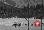 Image of Boys and girls at U.S. Ski Patrol School Berchtesgaden Germany, 1957, second 10 stock footage video 65675043165