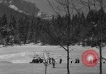 Image of Boys and girls at U.S. Ski Patrol School Berchtesgaden Germany, 1957, second 20 stock footage video 65675043165