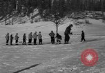 Image of Boys and girls at U.S. Ski Patrol School Berchtesgaden Germany, 1957, second 22 stock footage video 65675043165