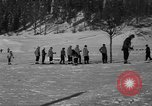 Image of Boys and girls at U.S. Ski Patrol School Berchtesgaden Germany, 1957, second 23 stock footage video 65675043165