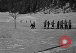 Image of Boys and girls at U.S. Ski Patrol School Berchtesgaden Germany, 1957, second 25 stock footage video 65675043165