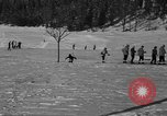 Image of Boys and girls at U.S. Ski Patrol School Berchtesgaden Germany, 1957, second 26 stock footage video 65675043165