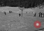 Image of Boys and girls at U.S. Ski Patrol School Berchtesgaden Germany, 1957, second 27 stock footage video 65675043165