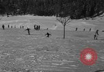 Image of Boys and girls at U.S. Ski Patrol School Berchtesgaden Germany, 1957, second 28 stock footage video 65675043165