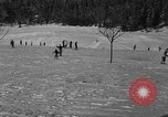 Image of Boys and girls at U.S. Ski Patrol School Berchtesgaden Germany, 1957, second 30 stock footage video 65675043165