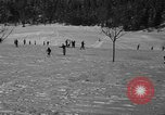 Image of Boys and girls at U.S. Ski Patrol School Berchtesgaden Germany, 1957, second 31 stock footage video 65675043165