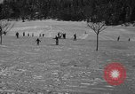 Image of Boys and girls at U.S. Ski Patrol School Berchtesgaden Germany, 1957, second 32 stock footage video 65675043165