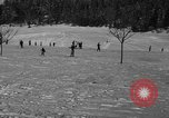 Image of Boys and girls at U.S. Ski Patrol School Berchtesgaden Germany, 1957, second 33 stock footage video 65675043165