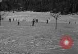Image of Boys and girls at U.S. Ski Patrol School Berchtesgaden Germany, 1957, second 34 stock footage video 65675043165
