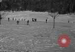 Image of Boys and girls at U.S. Ski Patrol School Berchtesgaden Germany, 1957, second 36 stock footage video 65675043165