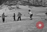 Image of Boys and girls at U.S. Ski Patrol School Berchtesgaden Germany, 1957, second 37 stock footage video 65675043165