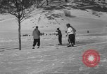 Image of Boys and girls at U.S. Ski Patrol School Berchtesgaden Germany, 1957, second 38 stock footage video 65675043165