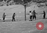 Image of Boys and girls at U.S. Ski Patrol School Berchtesgaden Germany, 1957, second 39 stock footage video 65675043165