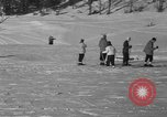 Image of Boys and girls at U.S. Ski Patrol School Berchtesgaden Germany, 1957, second 41 stock footage video 65675043165