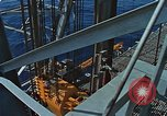 Image of The Glomar Challenger drilling deep ocean cores United States USA, 1974, second 40 stock footage video 65675043171