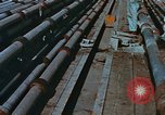 Image of The Glomar Challenger drilling deep ocean cores United States USA, 1974, second 49 stock footage video 65675043171