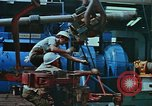 Image of The Glomar Challenger drilling deep ocean cores United States USA, 1974, second 62 stock footage video 65675043171