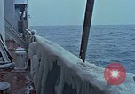 Image of The Glomar Challenger in cold weather operations Atlantic Ocean, 1974, second 48 stock footage video 65675043173