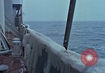 Image of The Glomar Challenger in cold weather operations Atlantic Ocean, 1974, second 49 stock footage video 65675043173