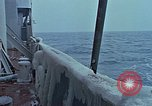 Image of The Glomar Challenger in cold weather operations Atlantic Ocean, 1974, second 50 stock footage video 65675043173