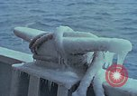 Image of The Glomar Challenger in cold weather operations Atlantic Ocean, 1974, second 53 stock footage video 65675043173