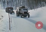 Image of NATO troops on maneuvers in Norway Norway, 1970, second 39 stock footage video 65675043185