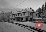 Image of Train at railroad Garmisch-Partenkirchen Germany, 1965, second 15 stock footage video 65675043205
