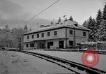 Image of Train at railroad Garmisch-Partenkirchen Germany, 1965, second 17 stock footage video 65675043205