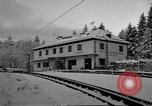 Image of Train at railroad Garmisch-Partenkirchen Germany, 1965, second 19 stock footage video 65675043205