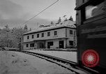Image of Train at railroad Garmisch-Partenkirchen Germany, 1965, second 20 stock footage video 65675043205