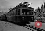 Image of Train at railroad Garmisch-Partenkirchen Germany, 1965, second 27 stock footage video 65675043205