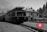 Image of Train at railroad Garmisch-Partenkirchen Germany, 1965, second 28 stock footage video 65675043205